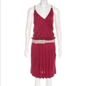 See By Chloe Bow-Accent Sleeveless Dress w Tags